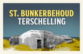 Op de website van de St Bunkerbehoud Terschelling treft u meer info over dit project.