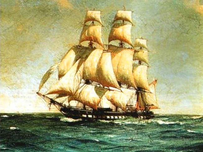 French Frigate Lutine, launched in 1779, captured by the Royal Navy, recommissioned as HMS Lutine, and lost in 1799.